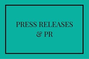 Press releases & PR