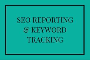 SEO reporting & keyword tracking