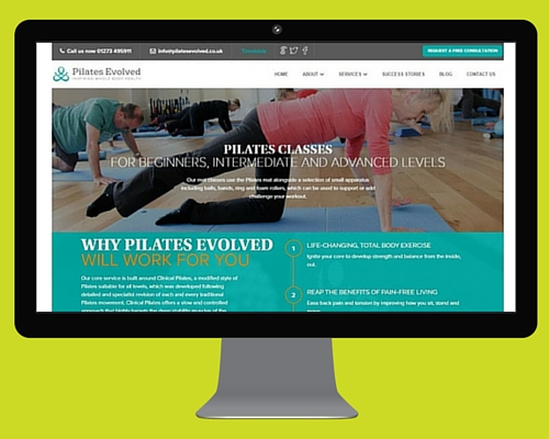 Health, Beauty & Wellness Client - Pilates Evolved