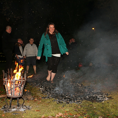 Firewalk for Dame Vera Lynn Trust