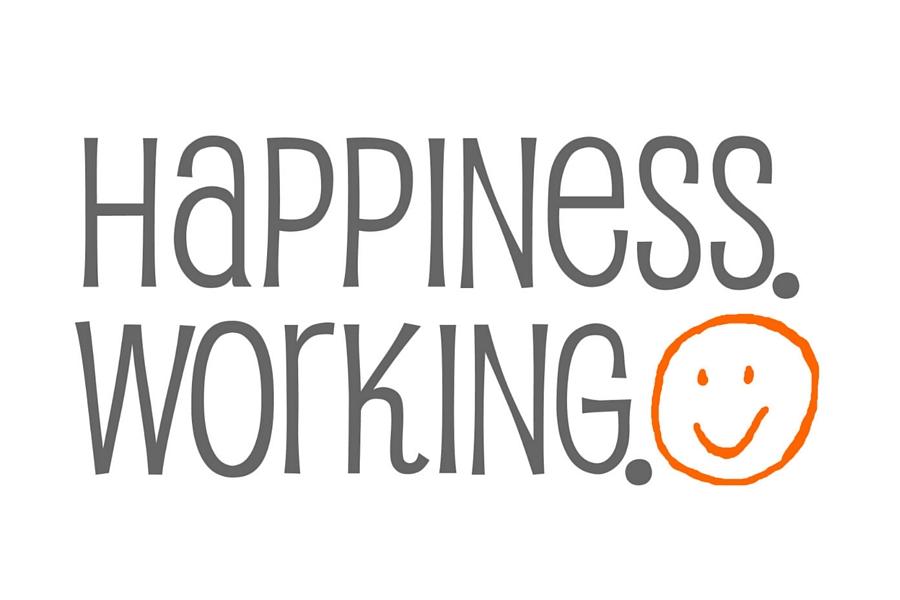 Happiness Working Logo