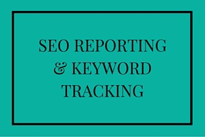 SEO reporting & keyword tracking