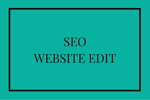 SEO website Edit
