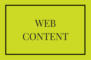 Website content writer. Web Content Services West Sussex